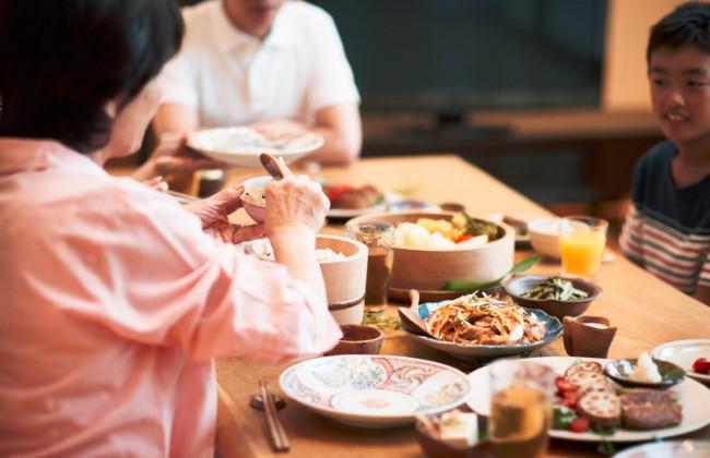 家族の晩ご飯