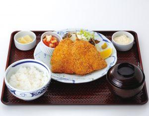 アジフライ定食のイメージ
