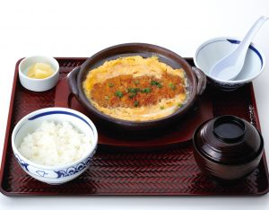 カツ煮定食のイメージ