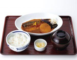 サバ味噌煮定食のイメージ