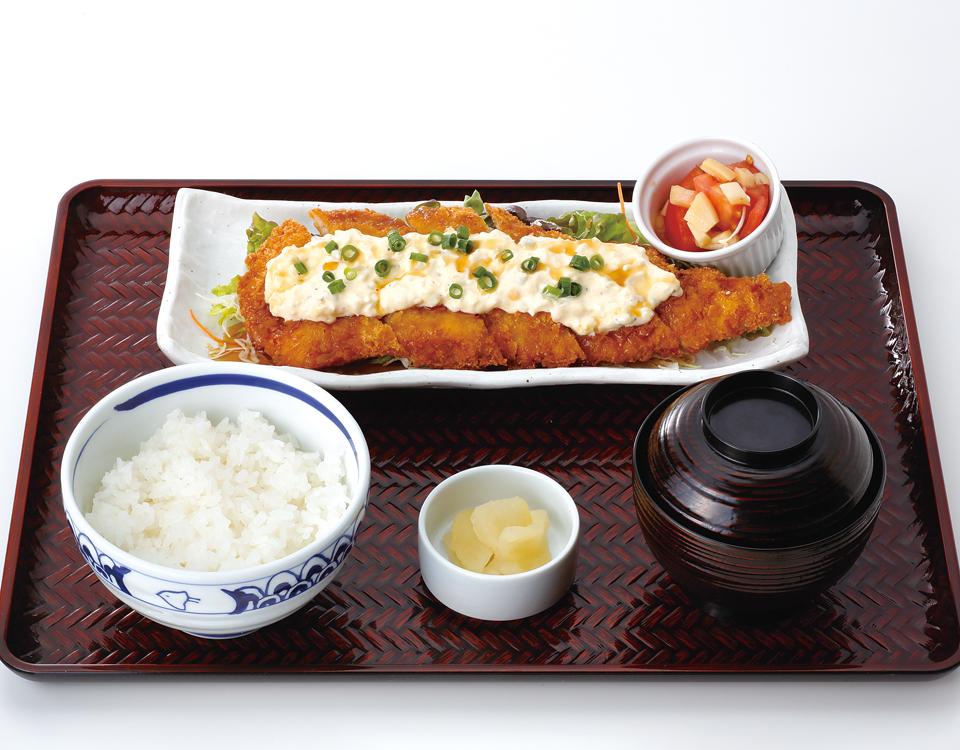 鱈カツ南蛮定食
