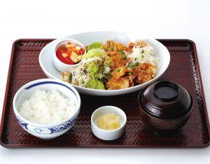 油淋鶏定食のイメージ