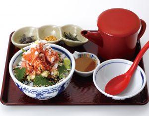 海鮮贅沢丼セットのイメージ