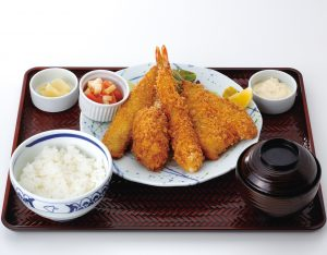 魚河岸フライ定食のイメージ