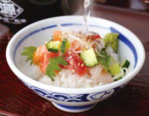 上 海鮮贅沢丼のイメージ