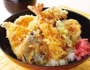 海老キス穴子天丼のイメージ