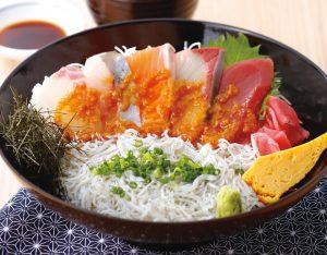 海鮮しょうゆ糀丼のイメージ