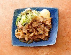 豚の生姜焼きとしらす丼のイメージ