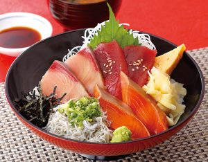 海鮮三種漬け丼のイメージ