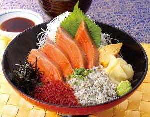 サーモン親子丼のイメージ