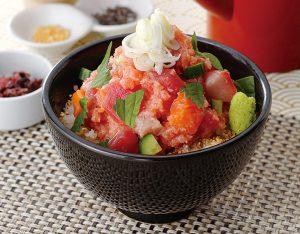 海鮮贅沢丼のイメージ