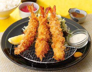 海老フライ定食のイメージ