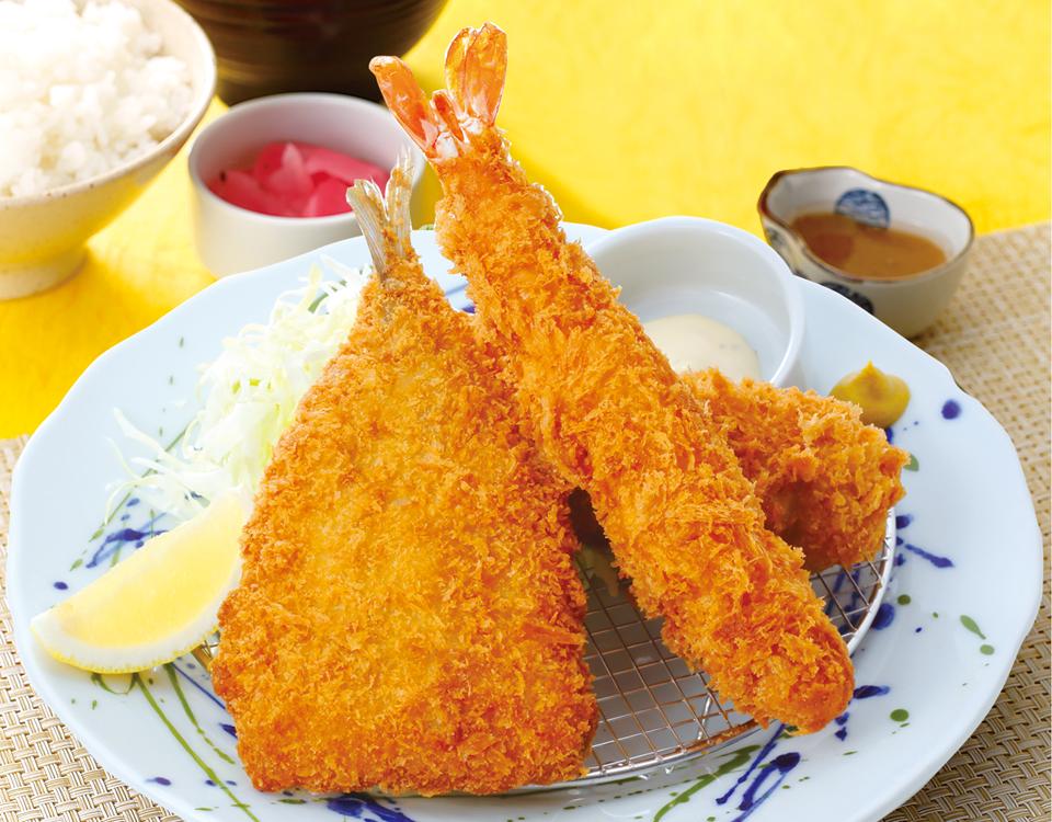 魚河岸フライ定食