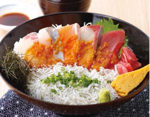 海鮮醤油糀漬け丼のイメージ