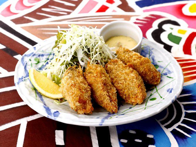 ついに来た!源ちゃん冬の名物『大粒牡蠣フライ』!