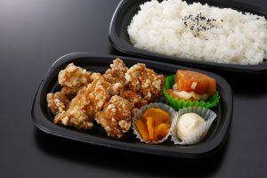鶏唐揚げ弁当のイメージ