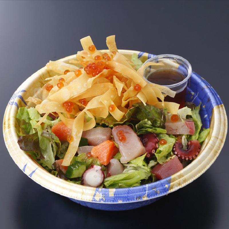 海鮮源ちゃんサラダ
